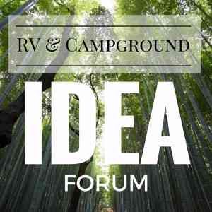 logo rv campground idea forum marketing